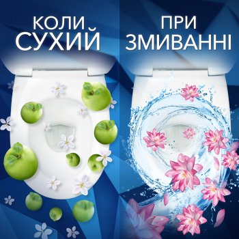 Туалетні блоки для унітаза Bref Зміна аромату Гірська лаванда — Квітуча бавовна Дуопак 100 г (9000101418224)