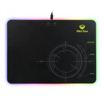 Ігрова поверхня для миші з підсвічуванням MEETION Gaming Mouse Pad MT-P010 360 X 260 black