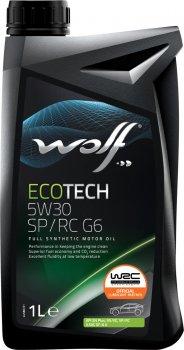 Моторна олива Wolf EcoTech 5W30 SP/RC G6 1 л (1047289)