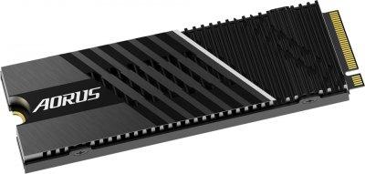 Gigabyte Aorus NVMe Gen4 7000s SSD 1TB M.2 2280 NVMe PCIe 4.0 x4 3D NAND TLC (GP-AG70S1TB)
