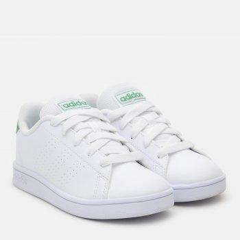 Кеды Adidas Advantage K EF0213 Ftwwht/Green/Gretwo