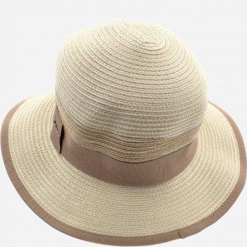 Шляпа Del Mare DM-103-10 (55-57 см) Светло-бежевая/Меланж