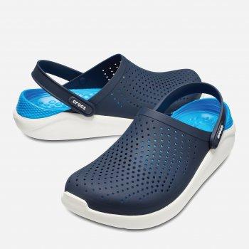 Сабо Crocs Women's LiteRide Clog 204592-462 Сине-белые