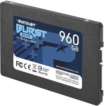 "Накопичувач SSD 960GB Patriot Burst Elite 2.5"" SATAIII TLC (PBE960GS25SSDR)"
