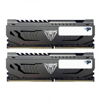 Модуль пам'яті Patriot 16GB (2x8GB) 3600 DDR4 Viper Steel (PVS416G360C8K)