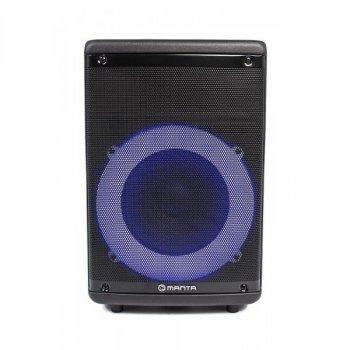 Акустическая напольная колонка Manta SPK5030 с Bluetooth 5.0 и функцией TWS + пульт ДУ и микрофон 30 Вт Черный