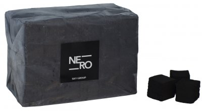 Уголь для кальяна Sky Group Nero 1 кг без коробки