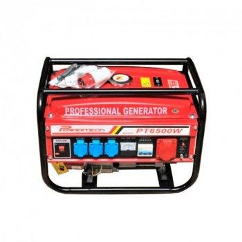 Генератор бензиновый 3-х фазный Powertech PT6500W 4,5 кв (220\380)