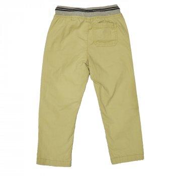 Штани для хлопчика (1 шт.) OshKosh бежевого кольору штани на гумці прямого крою 2 роки 38