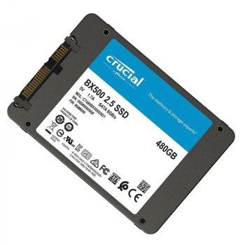 "Накопичувач SSD Crucial BX500 480GB 2.5"" SATAIII 3D NAND TLC (CT480BX500SSD1)"