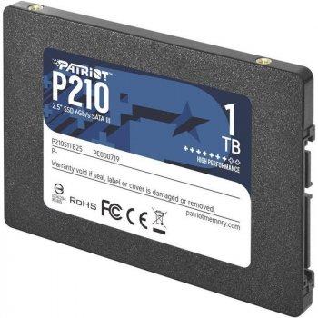 "Накопичувач SSD Patriot P210 1TGB 2.5"" SATAIII TLC (P210S1TB25)"