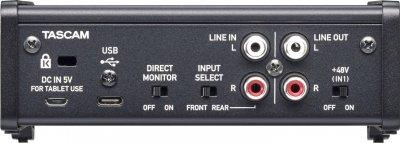 Аудіоінтерфейс Tascam US-1x2HR