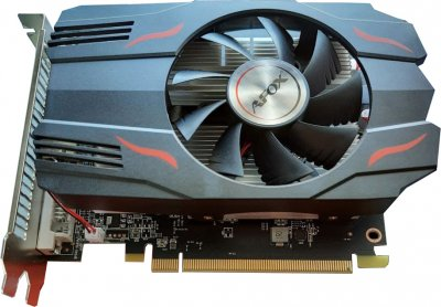 AFOX PCI-Ex Radeon RX 550 4GB GDDR5 (128bit) (1180/6000) (DVI, HDMI, DisplayPort) (AFRX550-4096D5H4-V4)