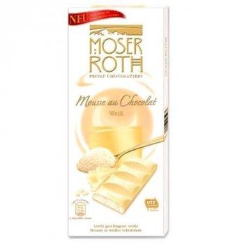 Шоколад белый с муссом Moser Roth Mousse 150г