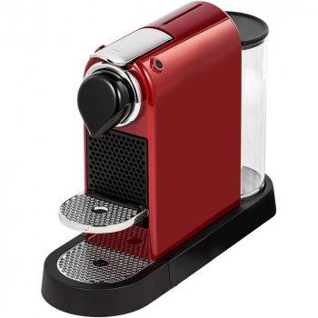 Капсульная кофемашина Nespresso CITIZ RED + дегустационный набор