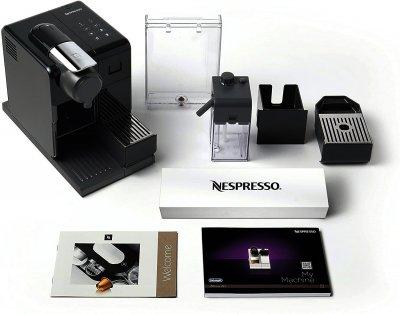 Капсульная кофемашина Nespresso Lattissima Touch EN560.B чёрная (F521-EU-BK-DL)