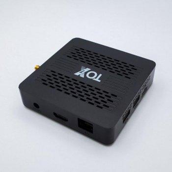Смарт ТВ-приставка TOX1 4/32Гб Amlogic S905X3 UGOOS прошивка