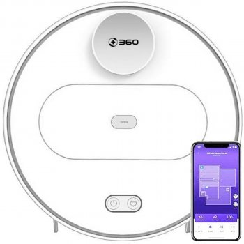360 Plus Vacuum Cleaner S6 White + ПОДАРОК