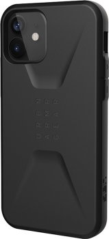 Панель UAG Civilian для Apple iPhone 12/12 Pro Black (11235D114040)