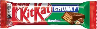 Упаковка батончиков KitKat Чанки Лесной орех 42 г х 24 шт (3800020445495)