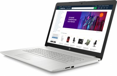 Ноутбук HP 17-by3047ur (22Q64EA) Natural Silver