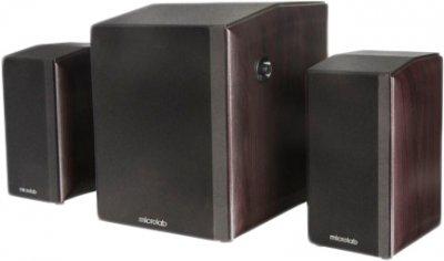 Акустична система Microlab FC-340 2.1 Dark wood