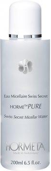 Міцелярна вода Hormeta HormePure Eau Micellaire Swiss Secret для зняття макіяжу 200 мл (7611902001472)