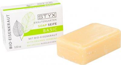 Мыло Styx Naturcosmetic Basic Soap With Organic Verbena Вербена 100 г (9004432122126)
