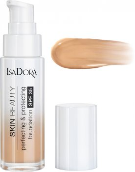 Тональный крем Isadora Skin Beauty совершенствующая и защитная основа 06 natural beige 30 мл (7317852143063)