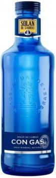 Упаковка воды минеральной сильногазированной Solan de Cabras 0.75 л х 12 бутылок (8411547212740)