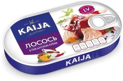 Филе лосося Kaija в пикантном креме 170 г (4751007732840)