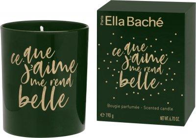 Святкова свічка Ella Bache в банкці з медово-мигдальним ароматом 190 г (NE20002)