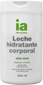 Крем-молочко для тела Interapothek Увлажняющее Восстанавливающее с экстрактом Алоэ Вера 200 мл (8430321006450)