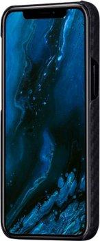 Панель Pitaka MagEZ Case Twill для Apple iPhone 12 Pro Black/Grey (KI1201P)