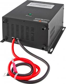 Комплект резервного живлення для котла та теплої підлоги LogicPower W1000 + гелева батарея 2700 ватів (LP5869)