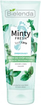 Маска против мозолей Bielenda Minty Fresh Foot Care Смягчающая 100 мл (5902169038236)