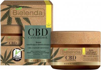 Крем Bielenda CBD Cannabidiol для комбинированной и жирной кожи 50 мл (5902169036188)