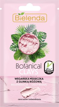 Маска для лица Botanical Clays для сухой кожи розовая глина + ягоды асаи 8 г (5902169038694)