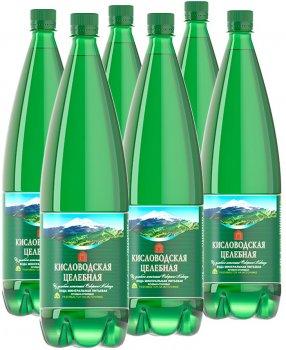 Упаковка минеральной воды Нарсан Кисловодская целебная газированная 1.5 л х 6 бутылок (4601320000037)