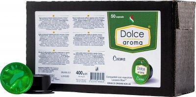 Капсула Dolce Aroma Crema для системы Lavazza Blue 8 г х 50 шт (4820093484824)