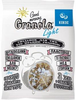 Упаковка гранолы Good morning Granola Гранола с кокосом 55 г х 15 шт (54820192180219)