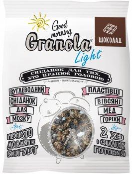 Упаковка гранолы Good morning Granola Гранола с шоколадом 55 г х 15 шт (54820192180226)