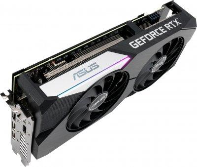 Asus PCI-Ex GeForce RTX 3060 Ti Dual OC Edition 8GB GDDR6 (256bit) (1740/14000) (2 x HDMI, 3 x DisplayPort) (DUAL-RTX3060TI-O8G)