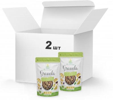 Набір Гранола Терра №7 з кокосовою стружкою і цукатами тропічних фруктів 2 x 250 г (4820015738813)