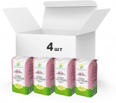 Упаковка Суміш різаних пластівців Терра 10 видів швидкого приготування 4 x 0.550 кг (4820015739322)