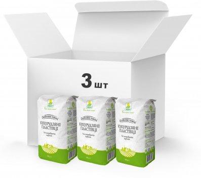 Упаковка Пластівці кукурудзяні Терра швидкого приготування 3 x 0.8 кг (4820015739315)