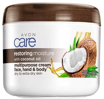 Крем для лица и тела Avon Масло кокоса Восстановление 400 мл (16617) (ROZ6400103357)