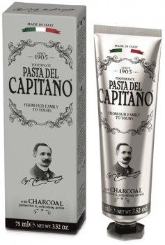 Зубная паста Pasta del Capitano 1905 С углем 75 мл (8002140037702)
