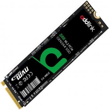 AddLink S68 512GB NVMe M.2 2280 PCIe 3.0 x4 3D NAND TLC (ad512GBS68M2P)