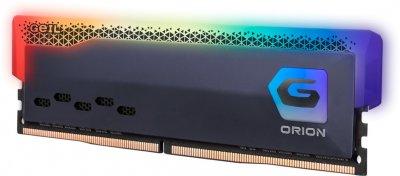 Оперативна пам'ять GeIL DDR4-3600 16384 MB PC4-28800 (Kit of 2x8192) Orion RGB Titanium Gray (GOSG416GB3600C18BDC)